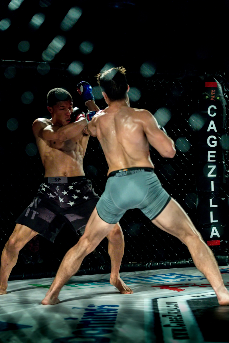 Christian Esquilin lands the jab against his opponent